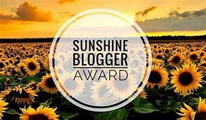 Sunshine Blogger award image